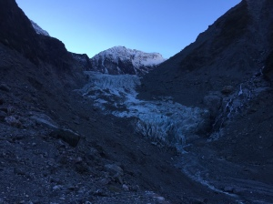 Fox Glacier- Terminal Face