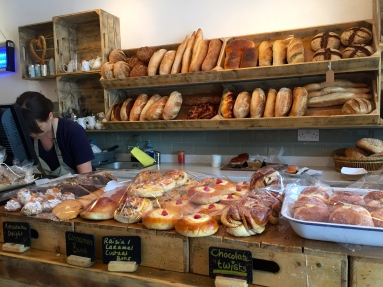 Inside Karma Breads Bakehouse, Hampstead Heath.