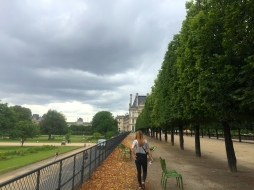 Wandering to the Louvre.