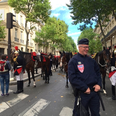 Some Police action on Bastille Day.