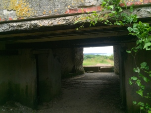 Bunkers near Omaha Beach