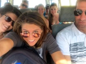 Surf class fun in the van