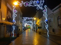 The town in festivities.